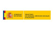 Ministerio de Sanidad, Servicios Sociales e igualdad logo