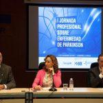 Mesa presentación I jornada Profesional sobre la enfermedad de Párkinson