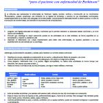 Recomendaciones de dieta y nutrición para personas con Párkinson